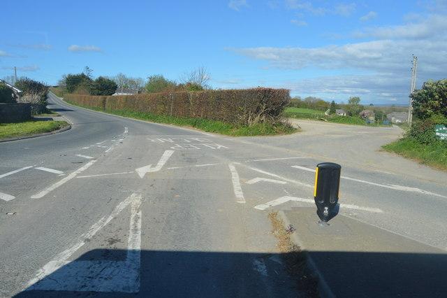 Road off A38