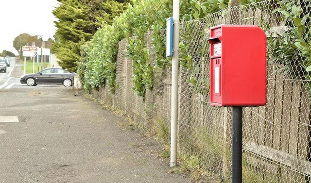 Postbox BT23 407, Crossnacreevey (October 2017)