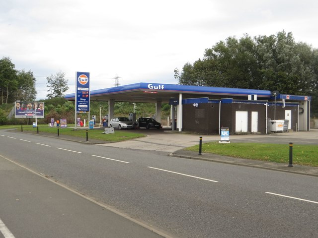 Petrol Station, Jarrow Road
