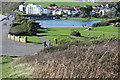 ST1066 : Promenade & Marine Lake, The Knapp by M J Roscoe
