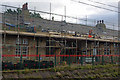 SD4970 : Carnforth station building repairs by Ian Taylor