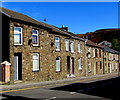 SS9892 : Houses and satellite dishes, Court Street, Tonypandy by Jaggery