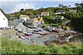 SW7214 : Cadgwith Harbour, Cornwall by Derek Voller