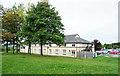 SK6288 : Hotel at Blyth Services by Trevor Littlewood