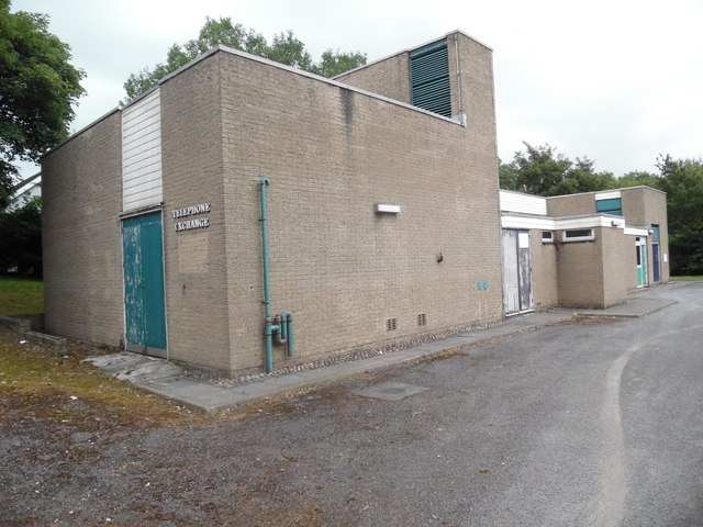 Chatburn Telephone Exchange, Lancs