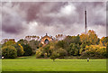 TQ2990 : Alexandra Palace and TV mast by Julian Osley