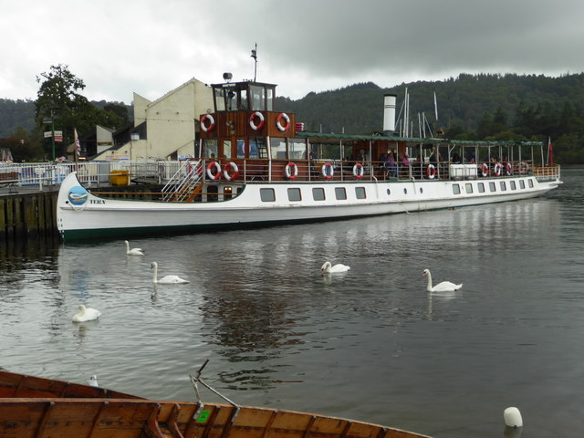 Bowness Pier, Bowness-on-Windermere