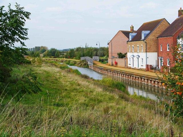 Wilts & Berks Canal adjacent to Scorhill Lane, East Wichel, Wichelstowe, Swindon