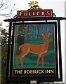 SU1969 : Roebuck Inn name sign, Marlborough by Jaggery