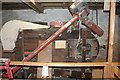 NY5635 : Little Salkeld Mill - disused winnower by Chris Allen