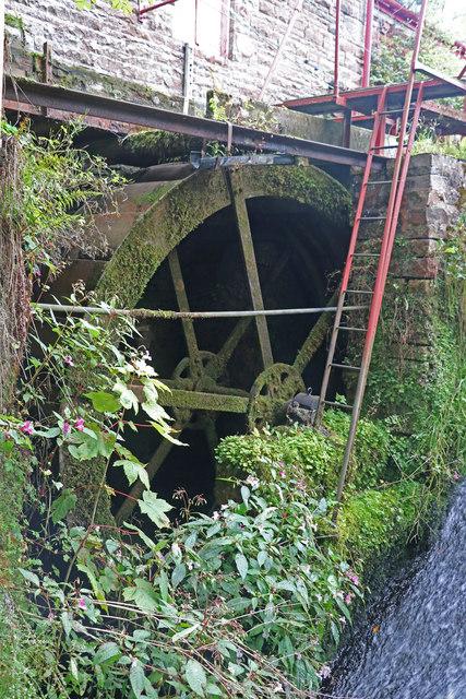 Little Salkeld Mill - the smaller wheel