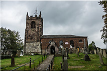 SJ8255 : All Saints' Church, Church Lawton by Brian Deegan
