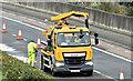 J3775 : Gully cleaning, Sydenham bypass, Belfast (October 2017) by Albert Bridge