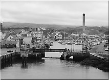 SC2484 : Peel Harbour viewed from Peel Castle by James T M Towill