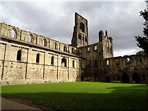 SE2536 : Kirkstall Abbey - Church and Cloisters by Ashley Dace