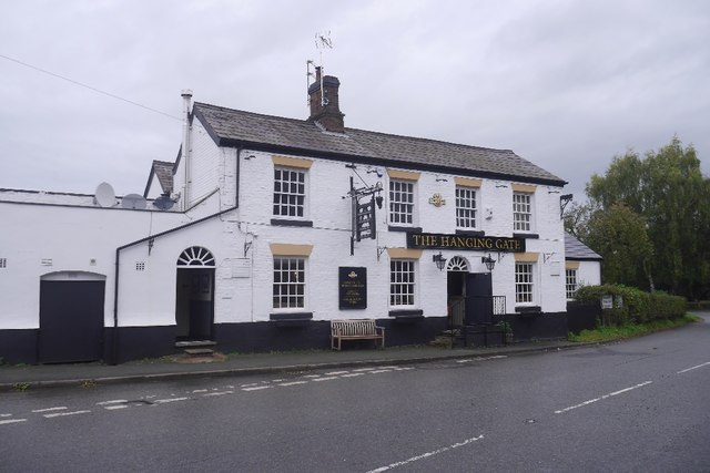 The Hanging Gate, Weaverham