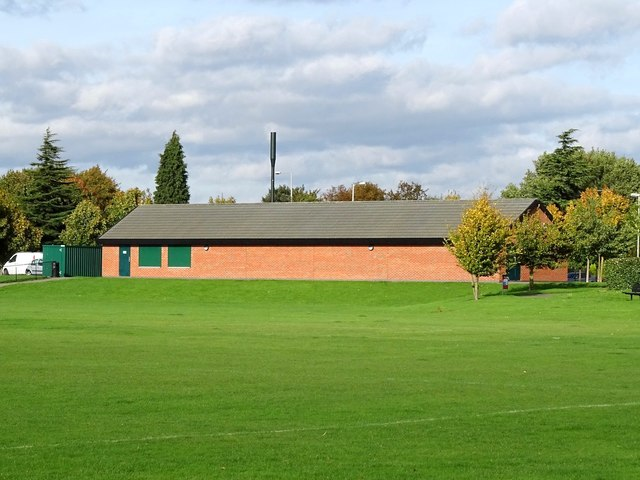 The pavilion in the Hetley Pearson Recreation Ground