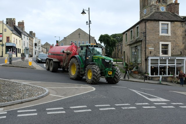 Traffic in a Market Town