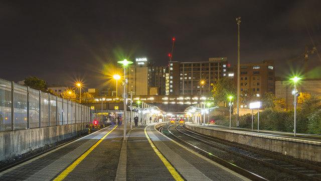 Railway platforms, Belfast