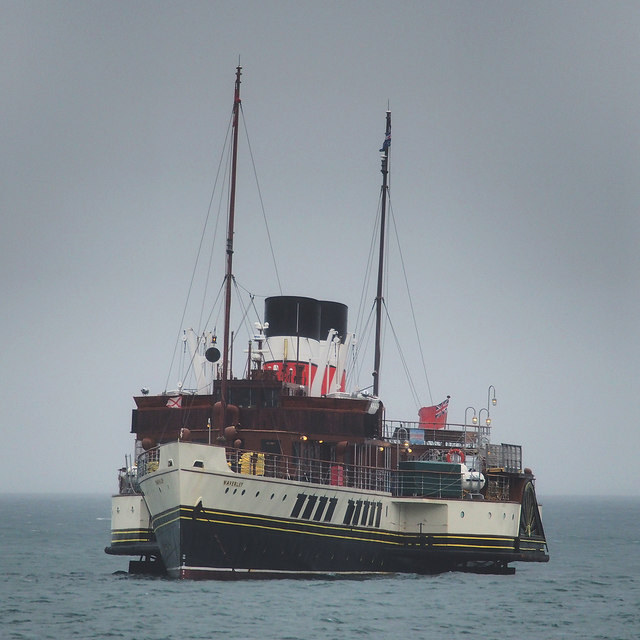 The 'Waverley' off Bangor
