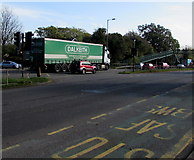ST3091 : Dalkeith articulated lorry, Malpas, Newport by Jaggery