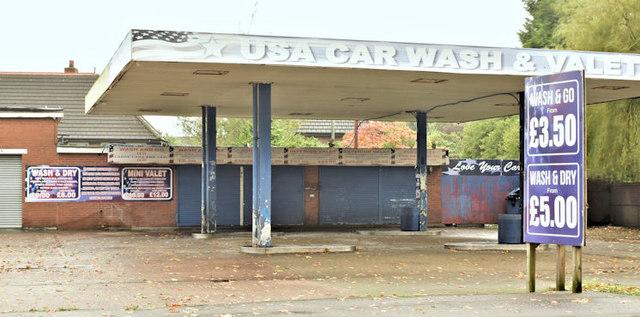 Former car wash, Old Holywood Road, Holywood (October 2017)