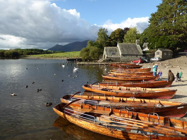 Rowing boats - Derwent Water