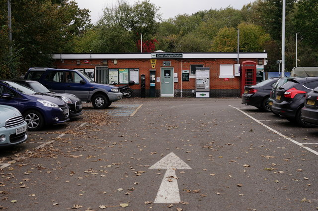 Christ's Hospital Railway Station