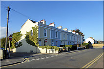 TR3752 : Terrace on Mill Road by Robin Webster