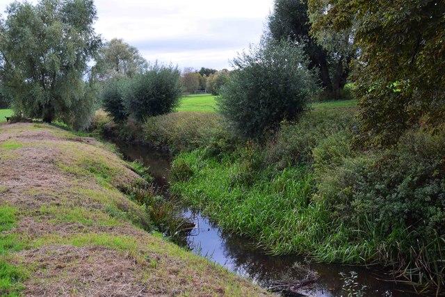 River Swilgate near Gander Lane, Tewkesbury, Glos