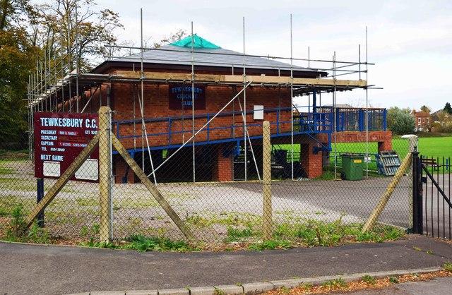 Tewkesbury Cricket Club Pavilion, Gander Lane, Tewkesbury, Glos
