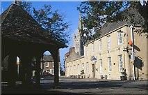 SK8608 : Marketplace, Oakham, 2001 by Derek Harper