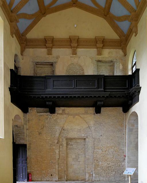 Great Hall and Balcony, Kirby Hall