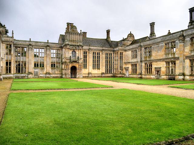 The Inner Courtyard, Kirby Hall