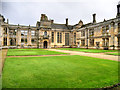 SP9292 : The Inner Courtyard, Kirby Hall by David Dixon