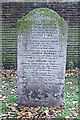 TQ3282 : The Phipson Memorial at Bunhill Fields by Chris Reynolds