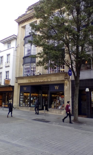Waterstone's bookshop, Exeter High Street