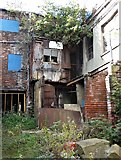 SK3487 : Disused industrial premises at Shalesmoor, Sheffield by Neil Theasby