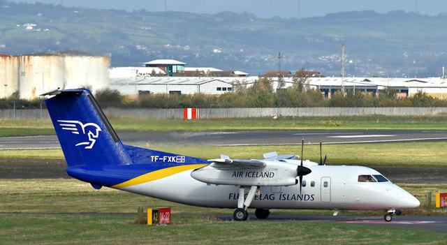 TF-FXK, Belfast City Airport (October 2017)