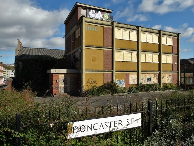 Disused industrial premises - Doncaster St, Sheffield 3
