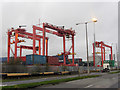 O1934 : Container terminal at Dublin Port by Gareth James