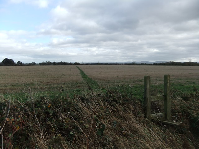 Field near Sloshmire Gate