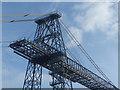 ST3186 : Transporter Bridge (detail), Newport by Robin Drayton