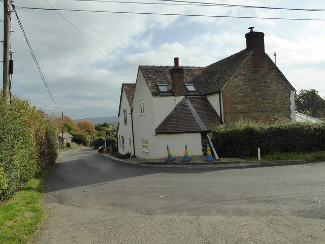 Corner in Bushmoor village