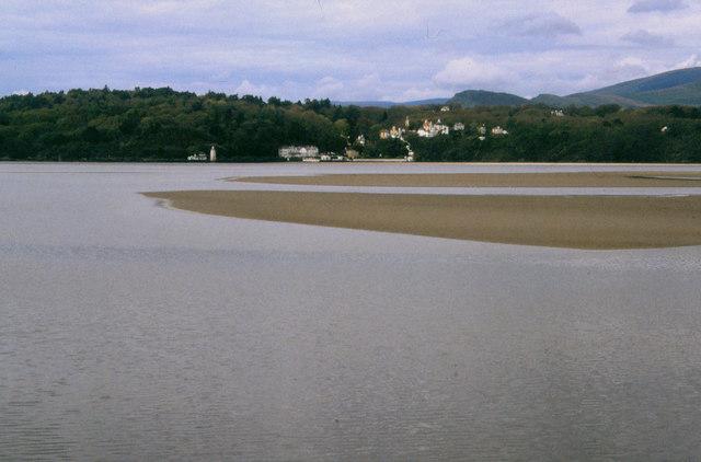 Dwyryd estuary at Llechollwyn, 2000