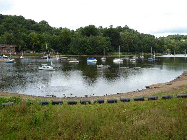 Rudyard Lake from the bridge over the overflow