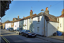 TR3752 : Row on West Street, Deal by Robin Webster