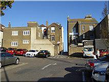 TR3752 : Custom House Lane, Deal by Robin Webster