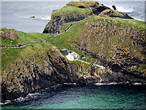 D0644 : White Hut on Carrick a Rede by David Dixon