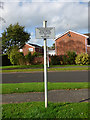 SJ7661 : Unusual sign by Doddington Drive by Stephen Craven